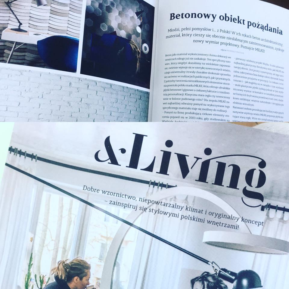 MILKE w Living – Label Magazine
