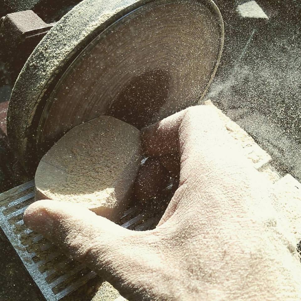 Produkcja - Uchwyty betonowe TEKT Concrete dla Plankton dla domu