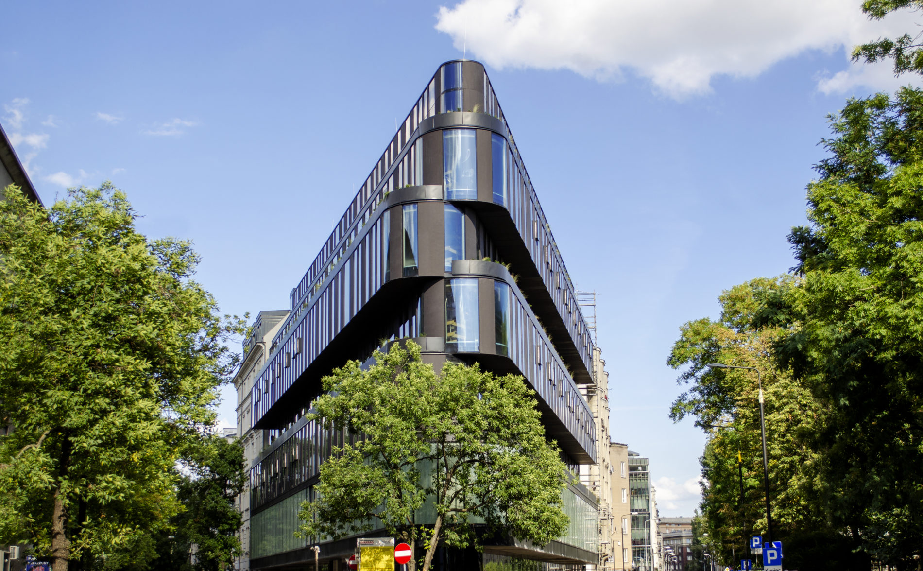 Plyty betonowe MILKE INWESTYCJE - Hotel Nobu Medusa Group