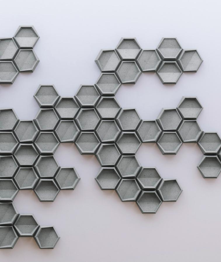 HEXO 1 - linia TEKT Concrete - MILKE - realizacja