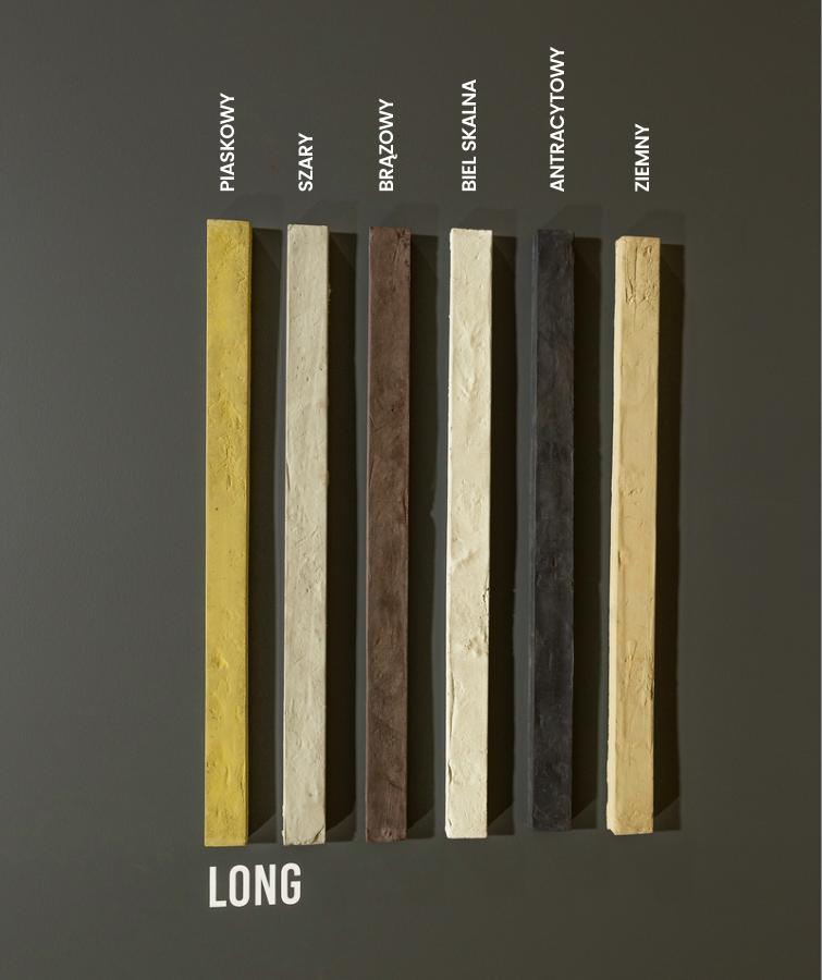 LONG - plytka MILKE - warianty kolorystyczne
