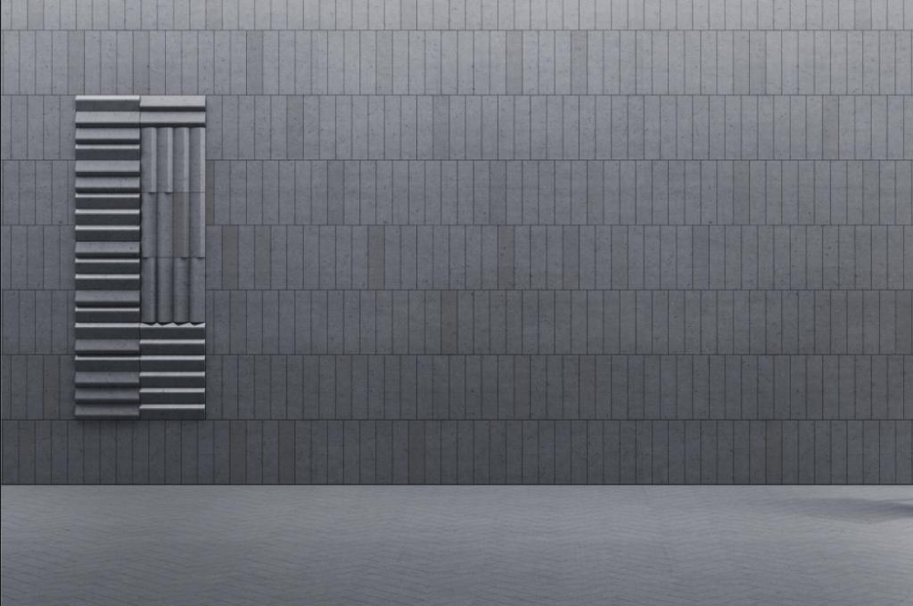 PLANK 1 i PLANK P - linia TEKT Concrete - MILKE - wizualizacja