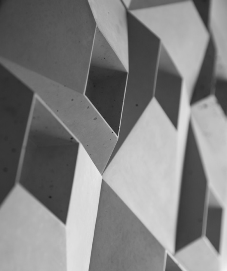 SQR 1 - linia TEKT Concrete - MILKE - realizacja