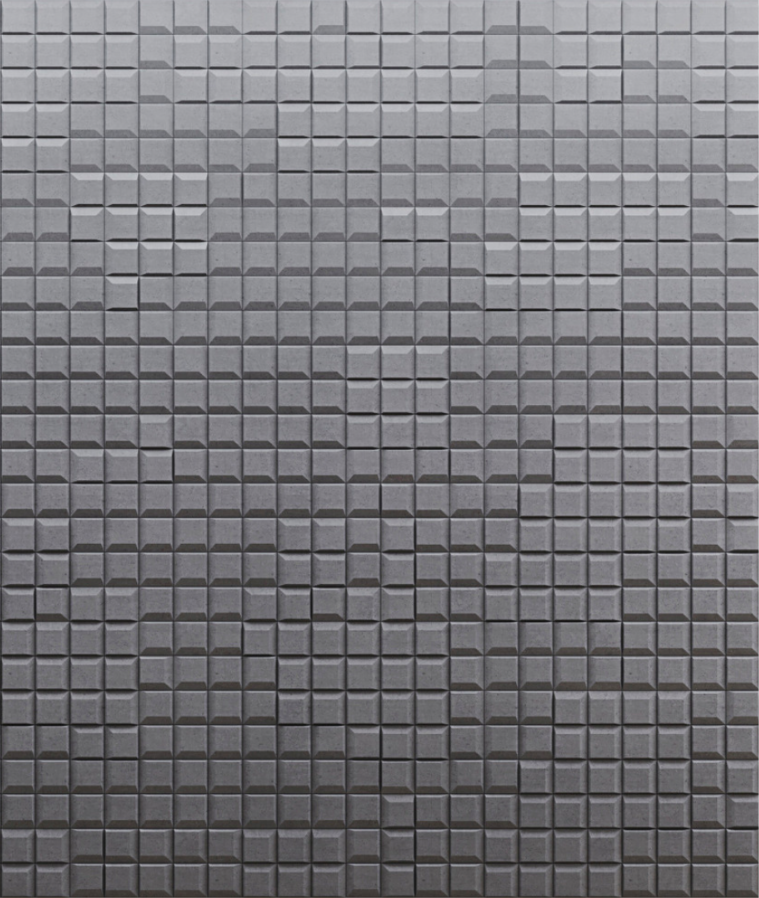 SQR mini 1 - linia TEKT Concrete - MILKE - wizualizacja