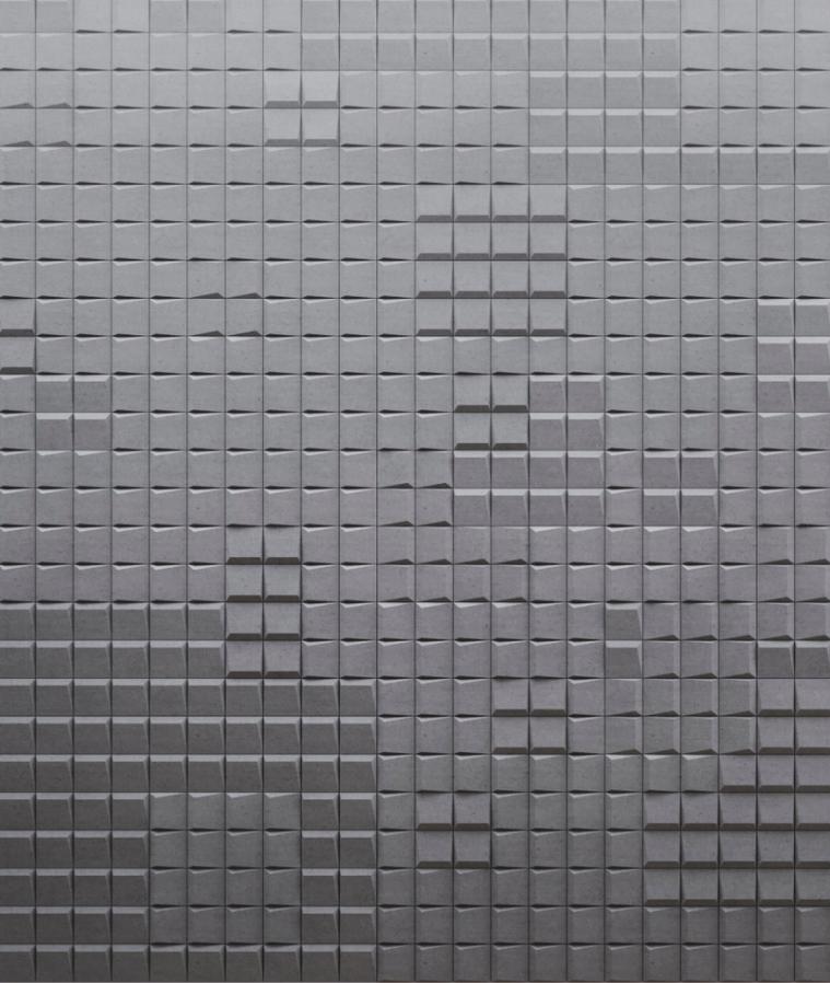 SQR mini 2 - linia TEKT Concrete - MILKE - wizualizacja