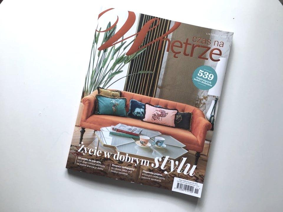 Magazyn Czas na Wnętrze