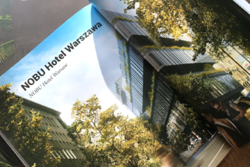 Publikacja z okazji 20 lat Medusa Group i projekt realizowany z MILKE - Hotel Nobu