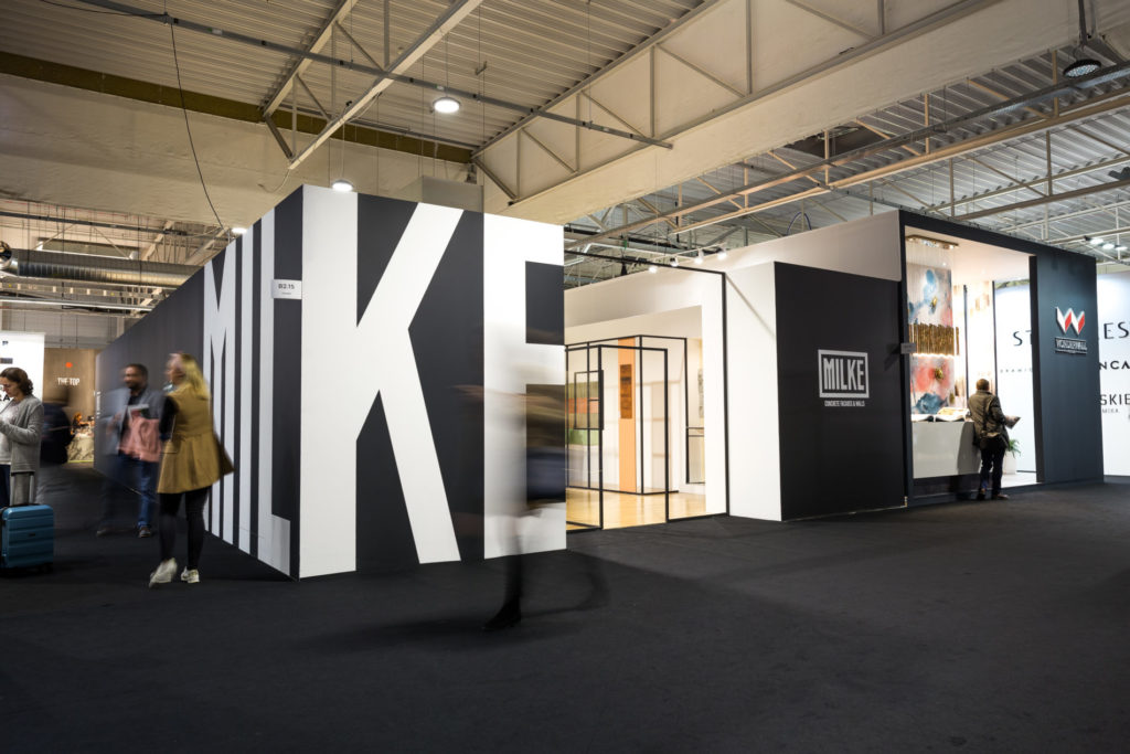 Stoisko MILKE i TEKT Concrete na targach Warsaw Home 2019
