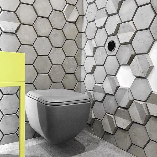 TEGEL HEXO - TEKT Concrete - La MIZA Architects