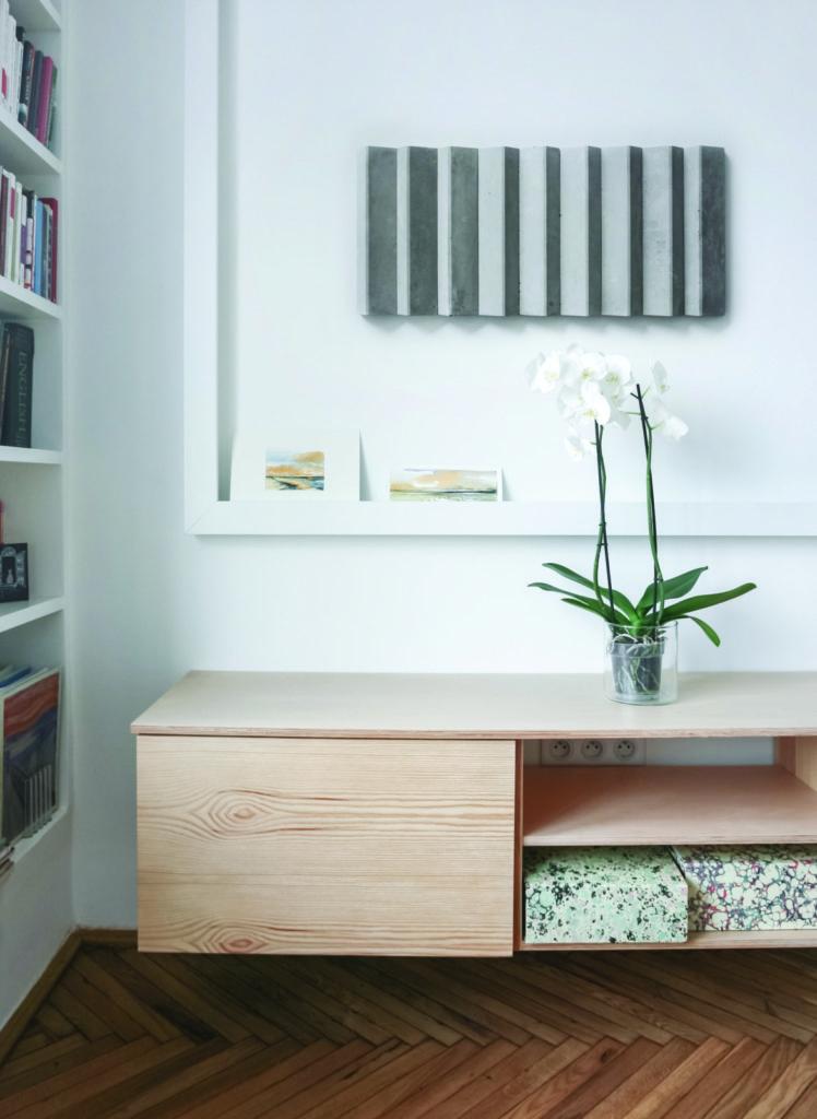 Kafle 3D PLANK - TEKT Concrete - pokoj