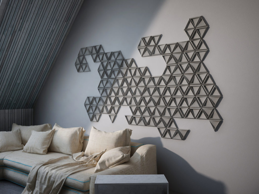 Kafle TRIX - TEKT Concrete - salon