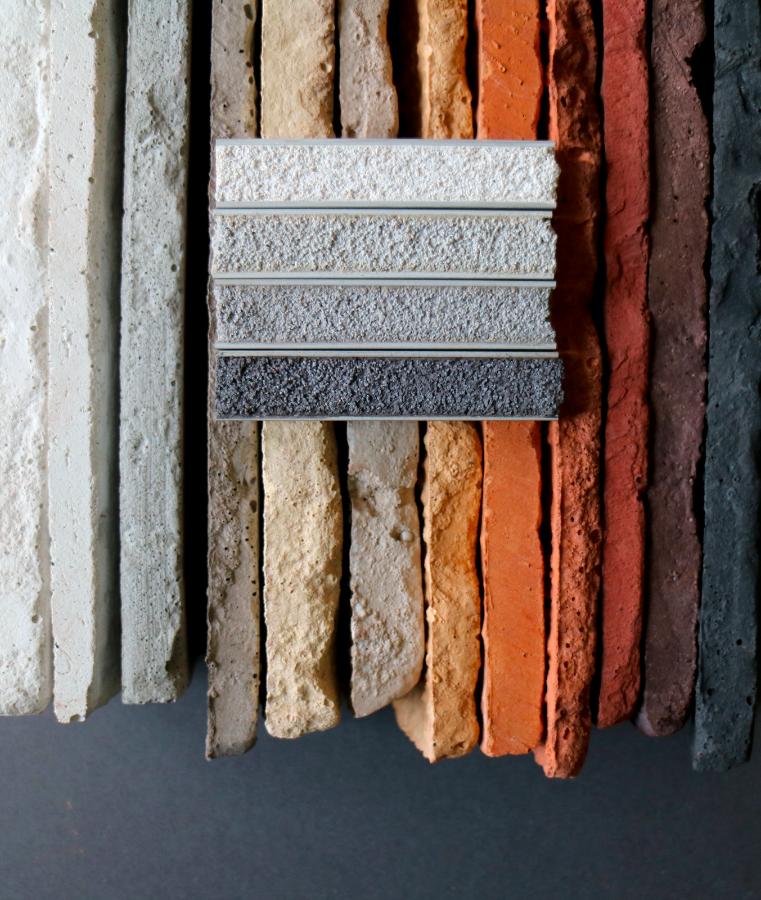 cegły MILKE i kolory fug