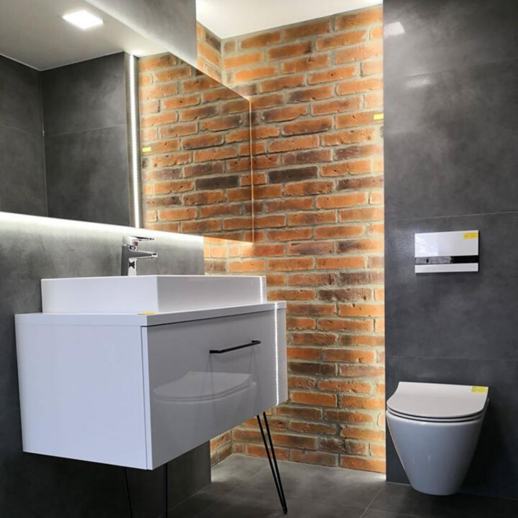 Stara Cegla MILKE - Inwestycja prywatna - łazienka